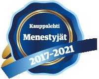Kauppalehti Menestyjät 2021 Tietopalvelu Finland Oy